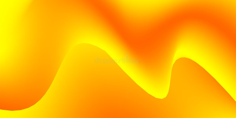 Vetor conservado em estoque ondulado alaranjado e amarelo, fundo abstrato das máscaras brilhantes ilustração do vetor