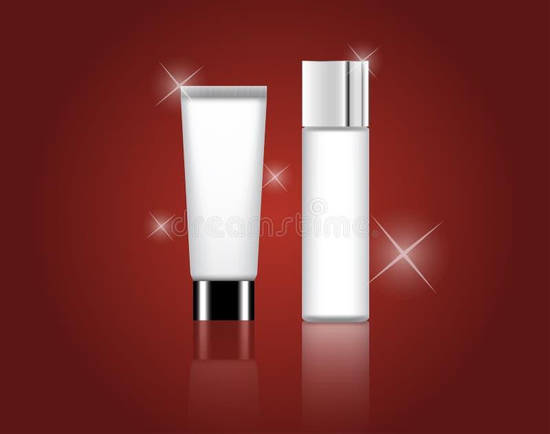 Vetor cosmético do produto da beleza fotos de stock royalty free
