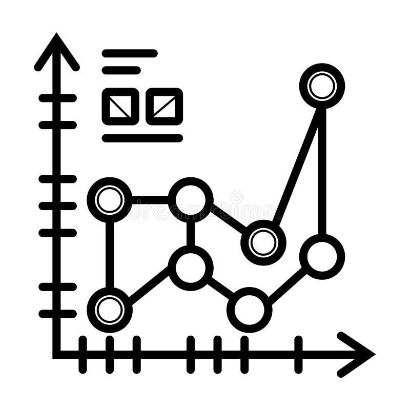 Vetor da analítica do negócio ilustração stock