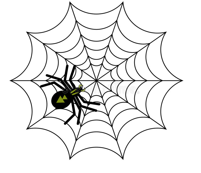 Vetor da aranha fotos de stock royalty free