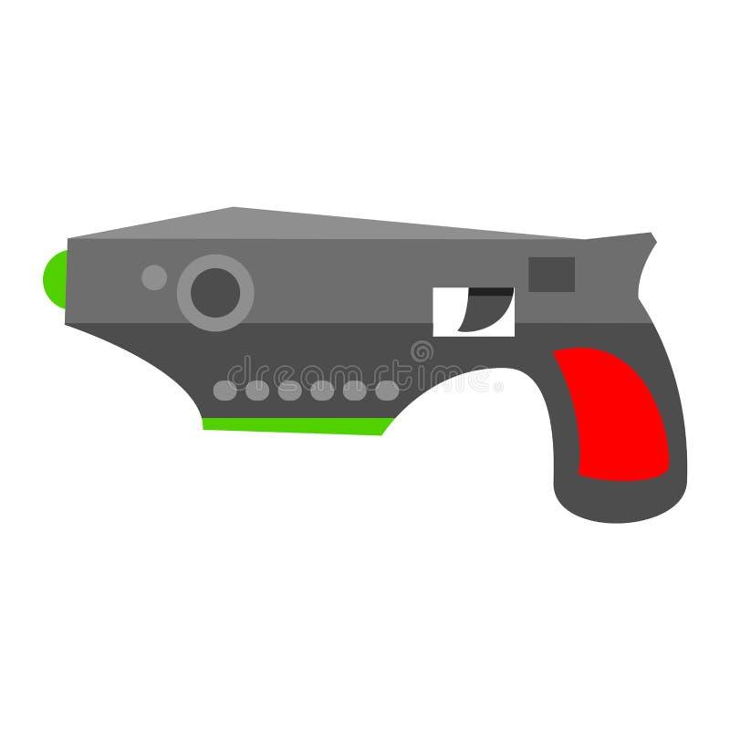 vetor da arma da pistola ilustração do vetor
