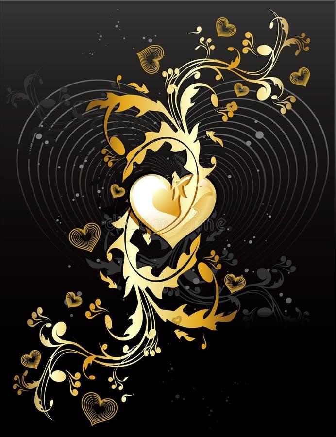 Vetor da bandeira do amor   ilustração royalty free