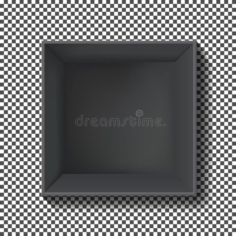 Vetor da caixa negra ilustração stock