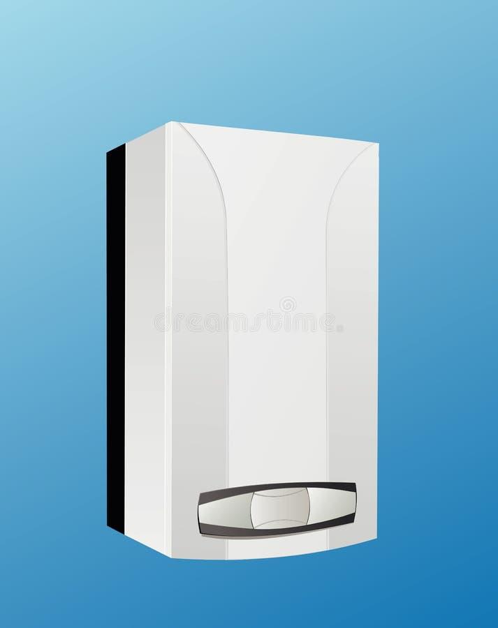 Vetor da caldeira do aquecimento ilustração royalty free