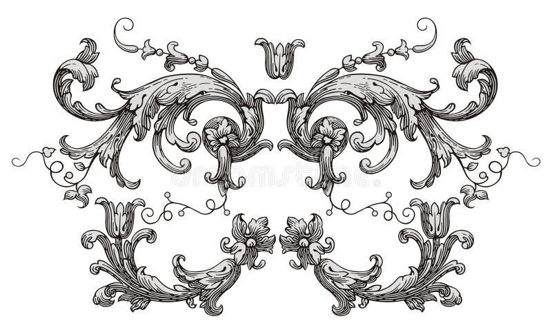 Vetor da decoração ilustração stock