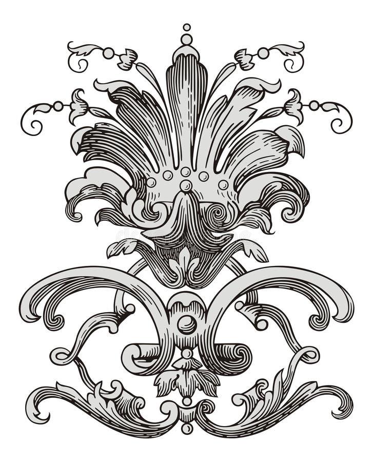 Vetor da decoração ilustração do vetor