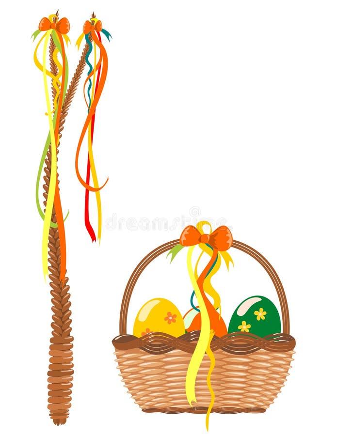 Vetor da decoração de Easter ilustração do vetor