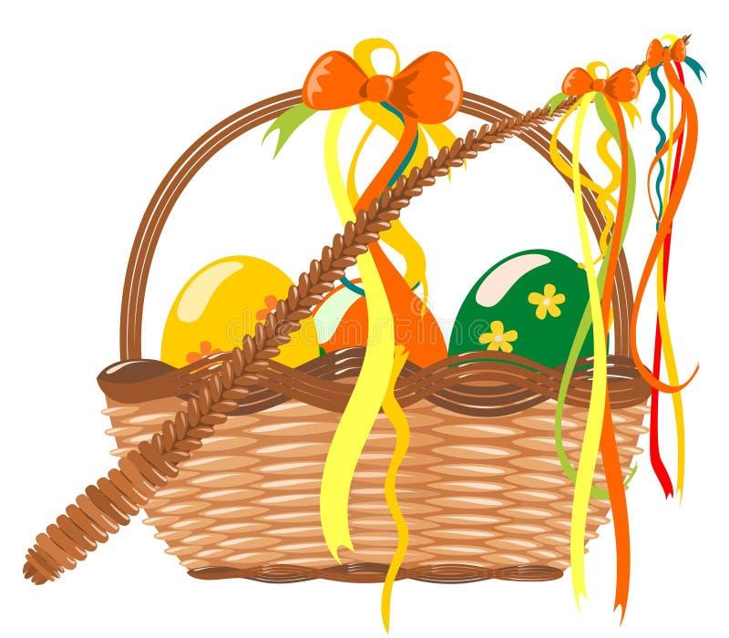 Vetor da decoração de Easter ilustração stock