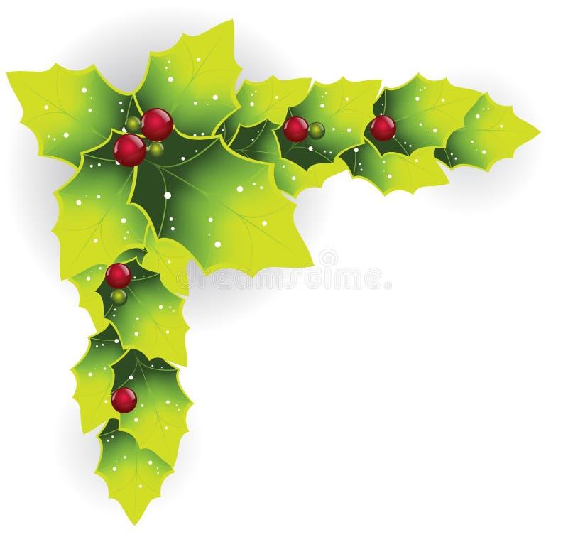 Vetor da decoração do Natal ilustração do vetor
