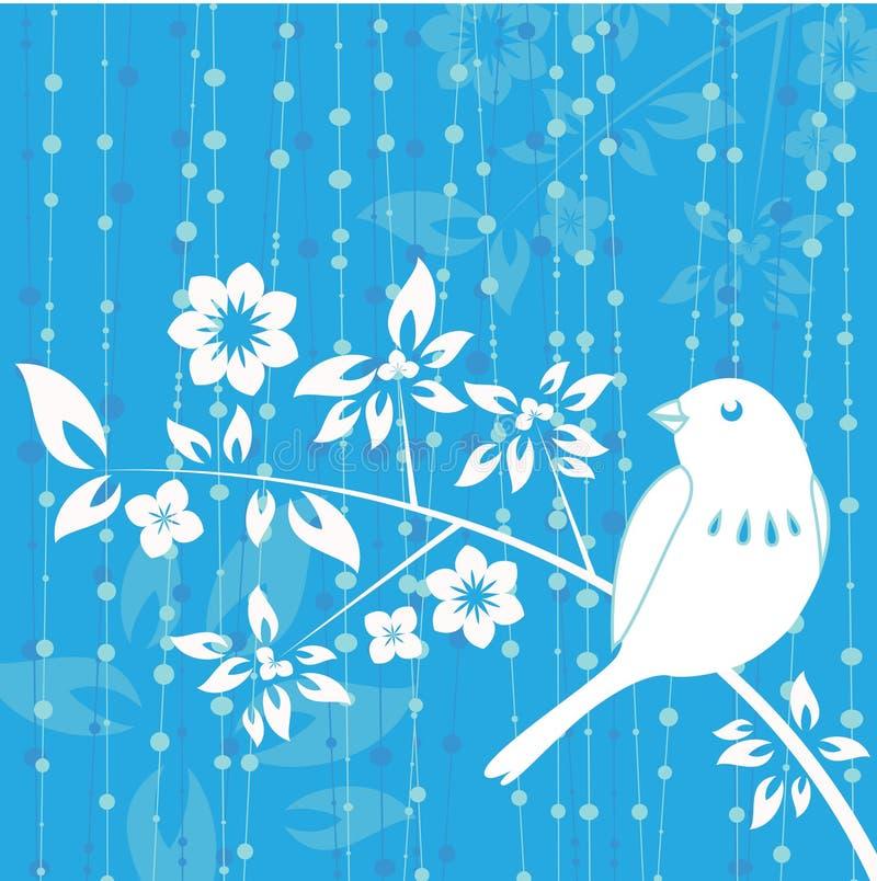 Vetor da decoração do pássaro ilustração stock