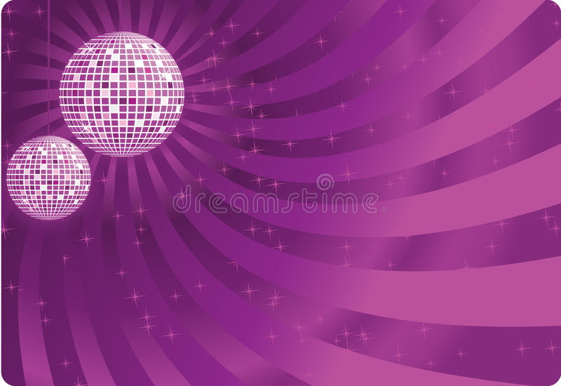 Vetor da esfera do disco imagens de stock royalty free