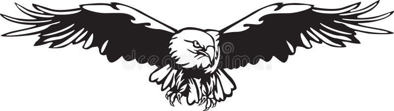 Vetor de Eagle ilustração stock