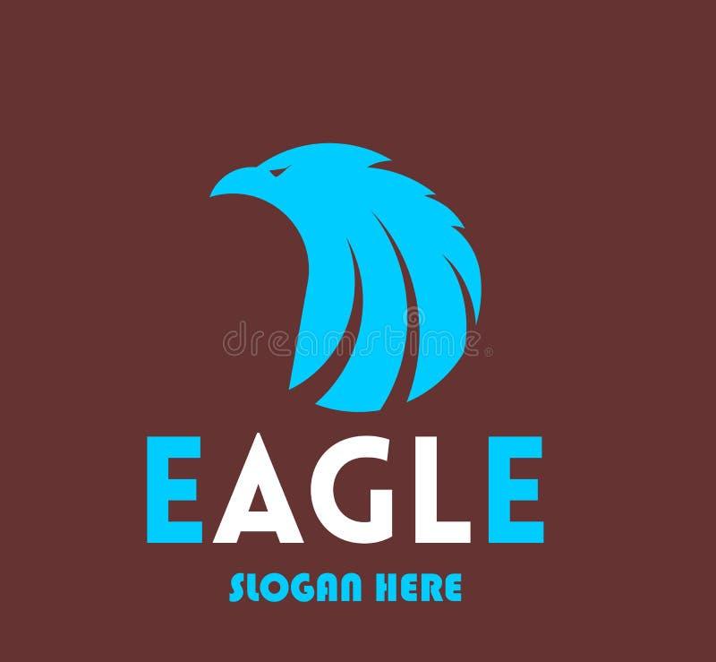 Vetor de Eagle Logo para o logotipo da empresa ilustração royalty free