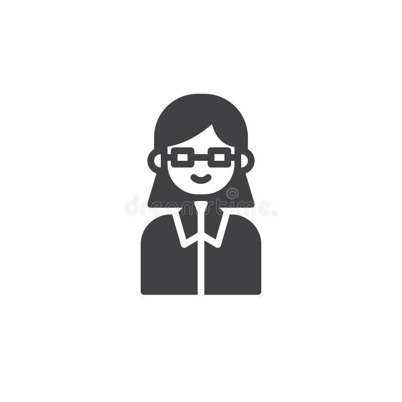 Vetor do ícone do advogado ilustração royalty free