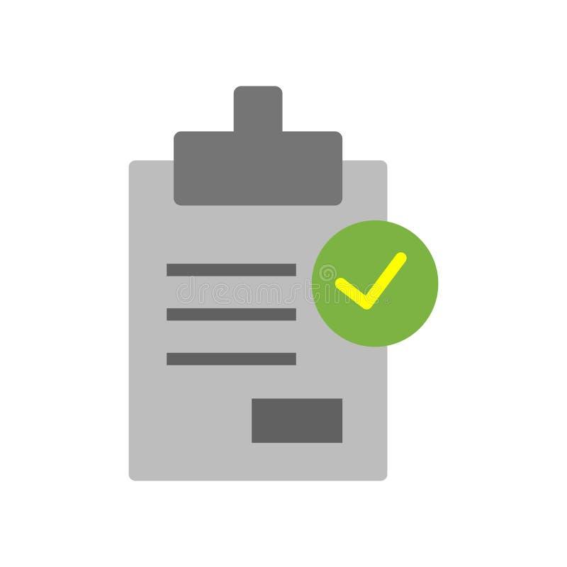 Vetor do ícone da avaliação isolado no fundo branco, sinal da avaliação, símbolos da pergunta ilustração do vetor