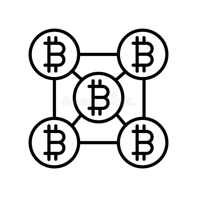 Vetor do ícone da estratégia isolado no fundo branco, sinal da estratégia, linha fina elementos do projeto no estilo do esboço ilustração stock