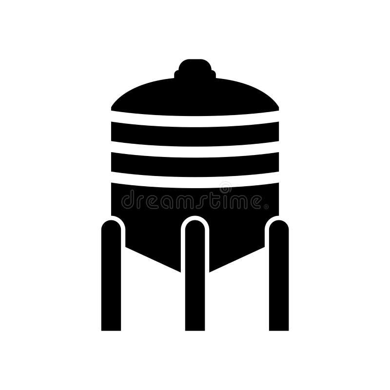 Vetor do ícone da fermentação isolado no fundo branco, sinal da fermentação, símbolos da cerveja ilustração do vetor