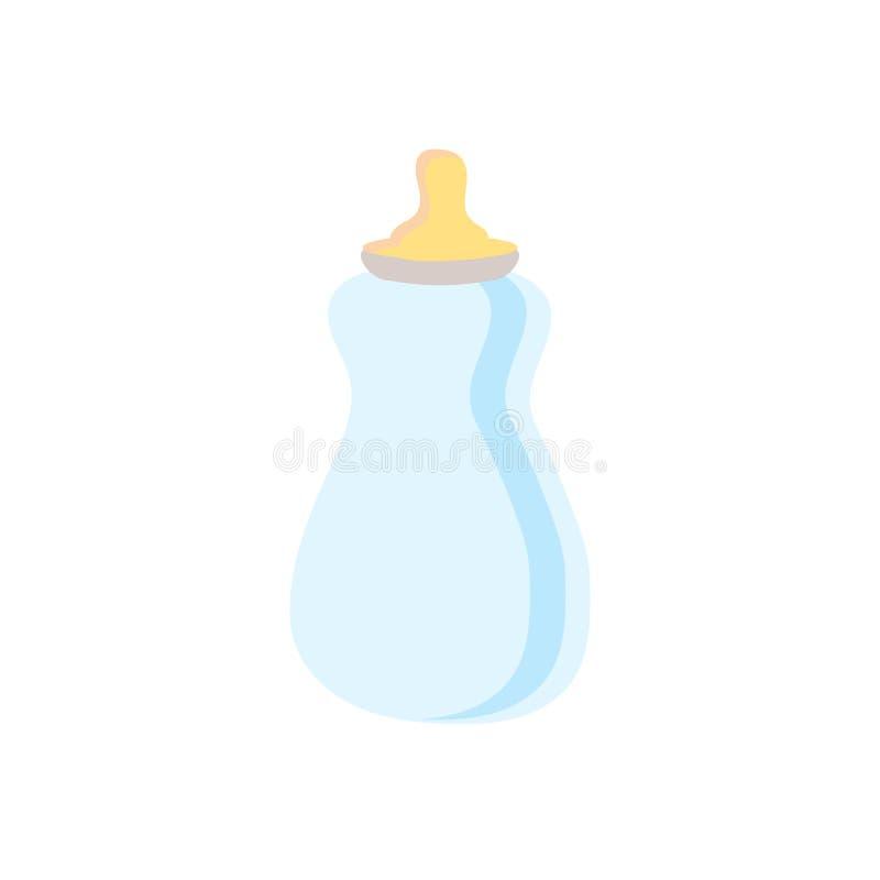 Vetor do ícone da garrafa de alimentação isolado no fundo branco, sinal da garrafa de alimentação, símbolos da família ilustração royalty free