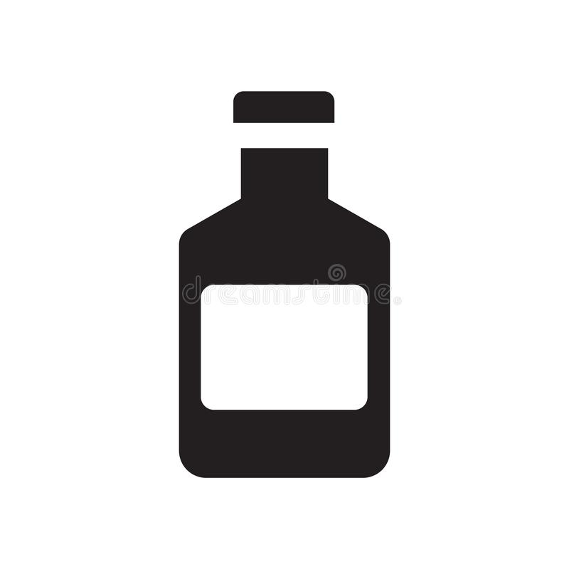 Vetor do ícone da medicina isolado no fundo branco, sinal da medicina, símbolos médicos da saúde ilustração stock