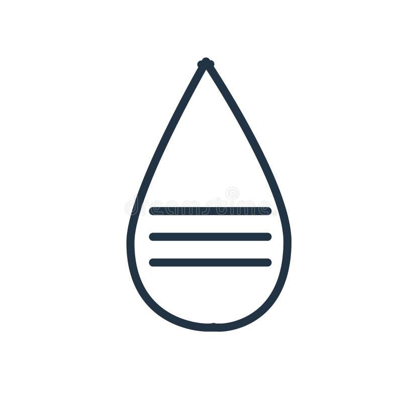 Vetor do ícone da mensagem isolado no fundo branco, sinal da mensagem ilustração royalty free