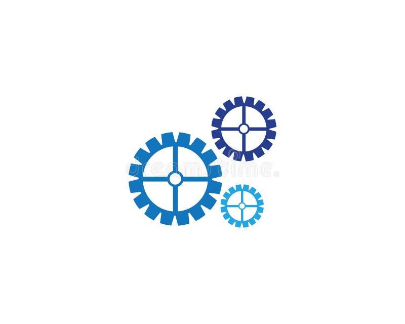 Vetor do ícone das engrenagens ilustração royalty free