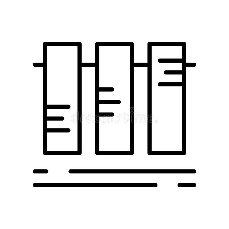 Vetor do ícone de Smartband isolado no fundo branco, si de Smartband ilustração stock