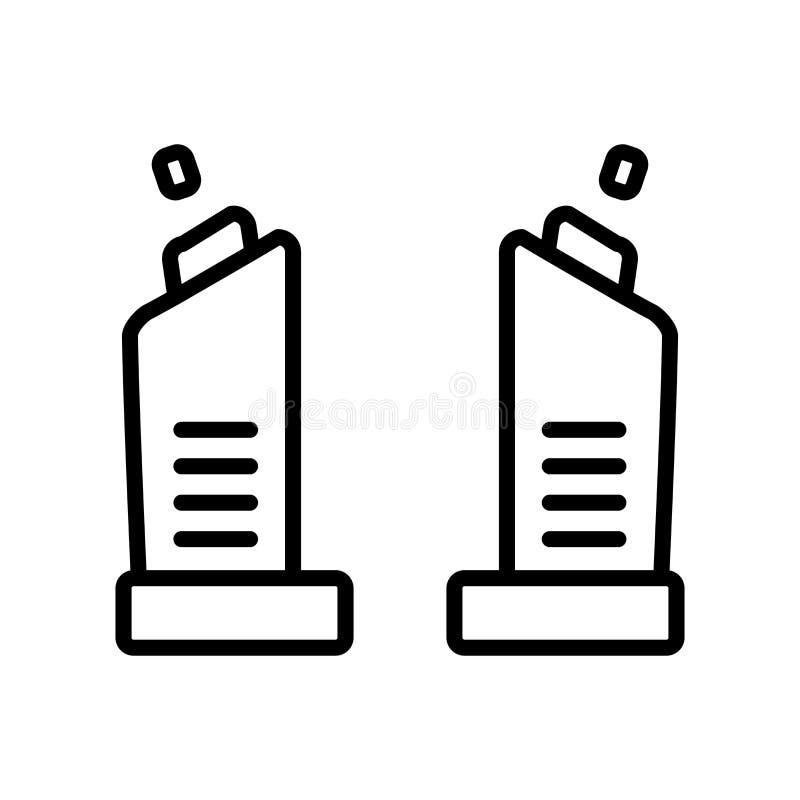 Vetor do ícone do debate isolado no fundo branco, sinal do debate, l ilustração do vetor