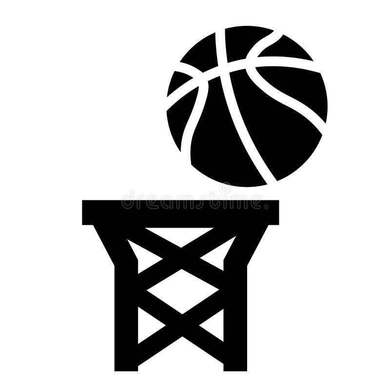 Vetor do ?cone dos pontos do basquetebol ilustração do vetor