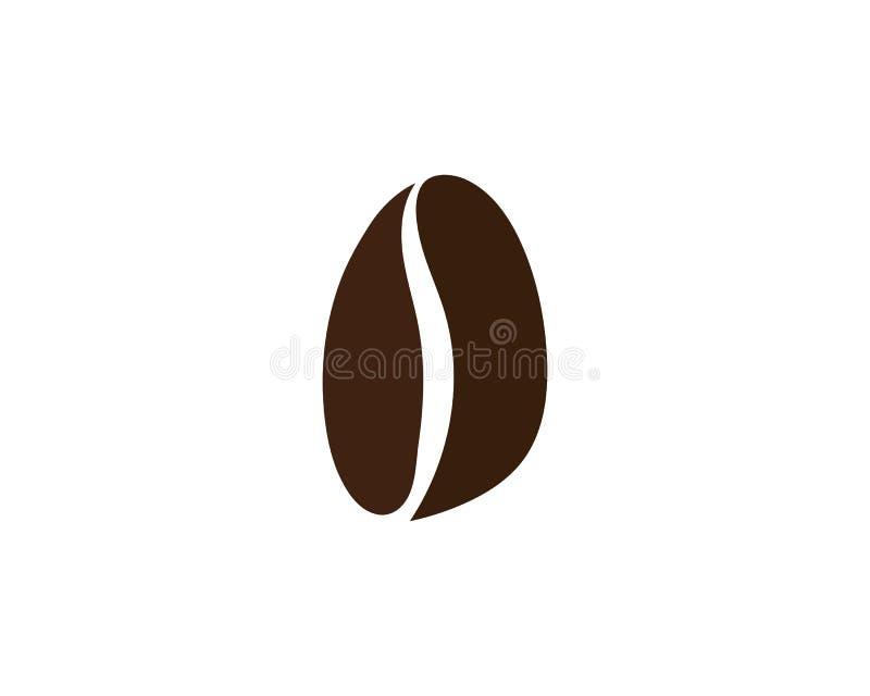 Vetor do ícone do feijão de café ilustração royalty free