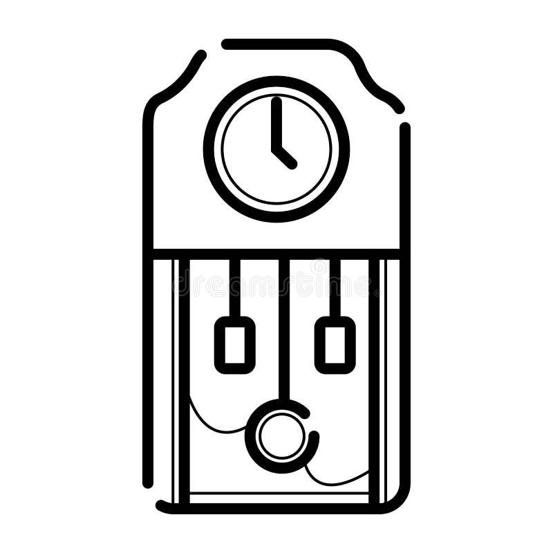Vetor do ícone do pulso de disparo ilustração do vetor