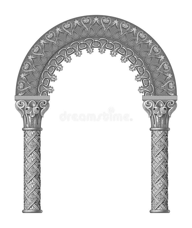 Vetor do arco ilustração stock
