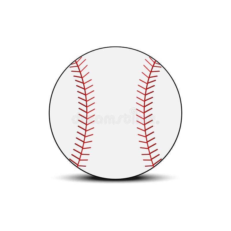 Vetor do basebol ilustração stock