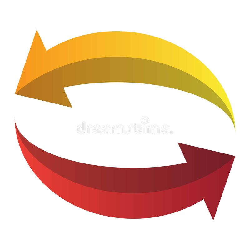 Vetor do botão do círculo ilustração do vetor