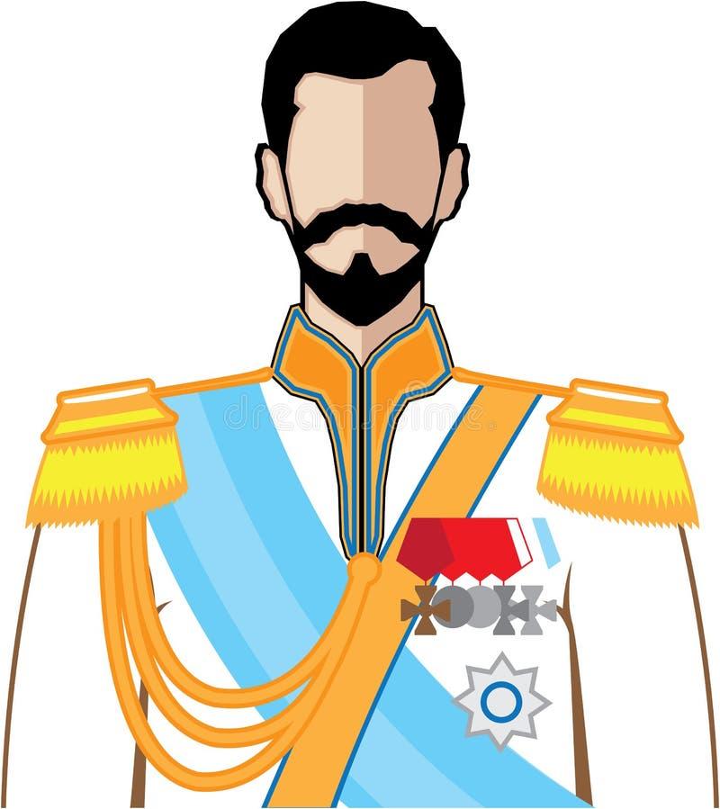 Vetor do czar ilustração royalty free