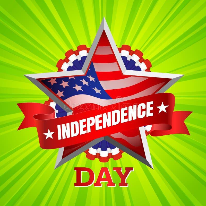 Vetor do Dia da Independência ilustração do vetor