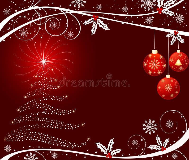 Vetor do fundo do Natal ilustração royalty free