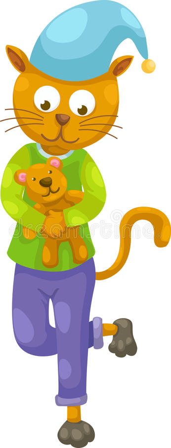Download Vetor do gato ilustração do vetor. Ilustração de urso - 26524455