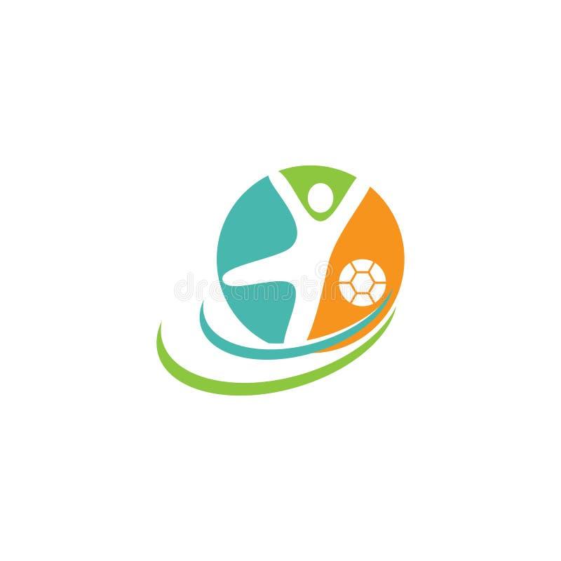 vetor do ilustration do logotipo do esporte ilustração do vetor