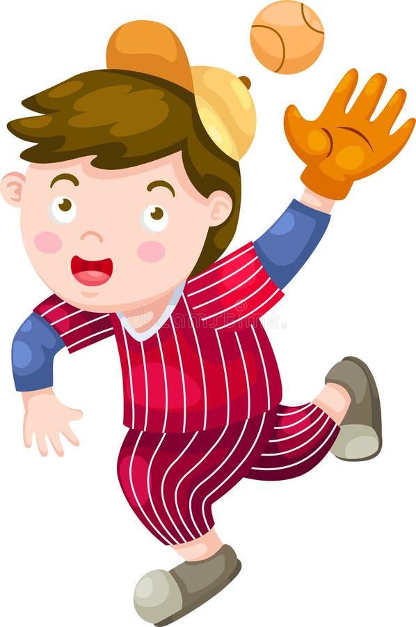 Download Vetor Do Jogador De Beisebol Ilustração do Vetor - Ilustração de baseball, projeto: 26524426