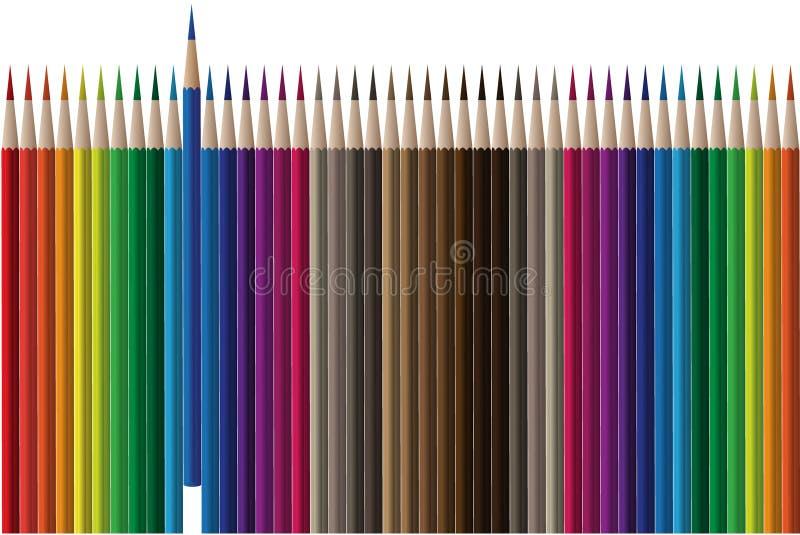 Vetor do lápis ilustração do vetor