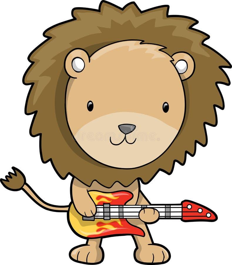 Download Vetor Do Leão Da Estrela Do Rock Ilustração do Vetor - Ilustração de ilustração, selva: 10058947