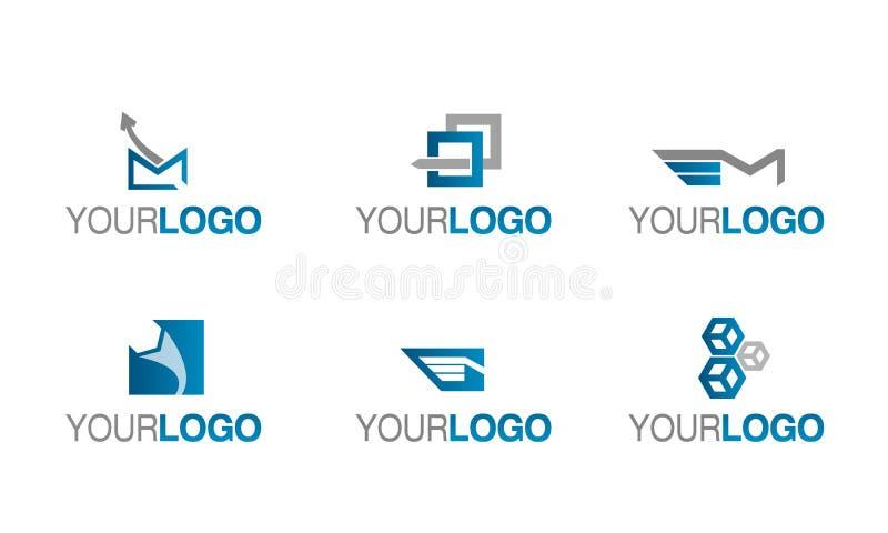 Vetor do logotipo da entrega e do transporte ilustração stock