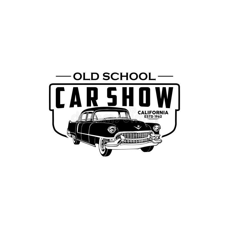 Vetor do logotipo de Califórnia da feira automóvel ilustração royalty free