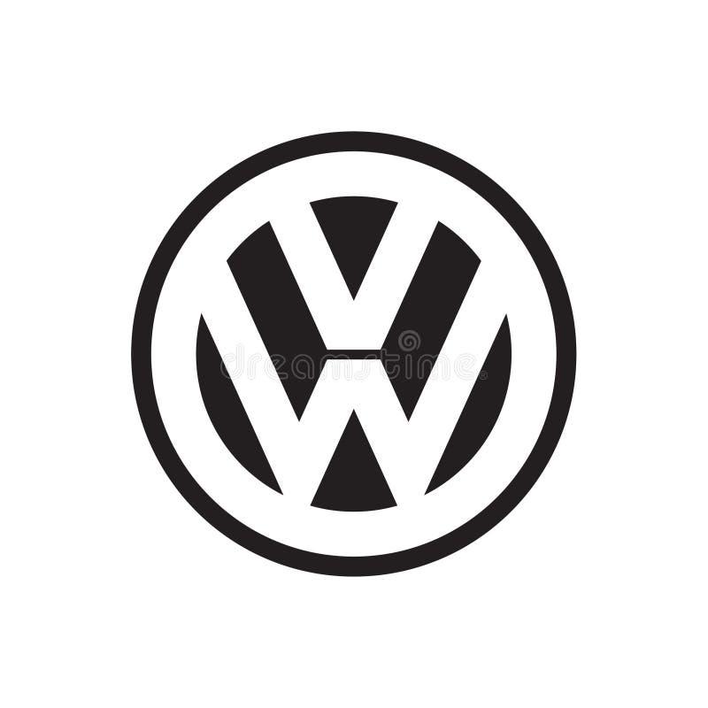 Vetor do logotipo de Volkswagen ilustração do vetor
