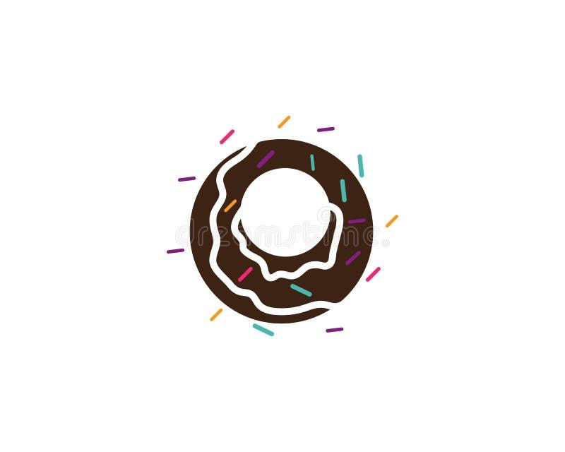 Vetor do logotipo dos anéis de espuma ilustração do vetor