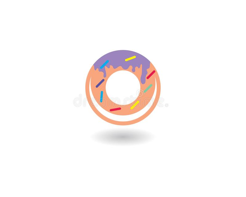 Vetor do logotipo dos anéis de espuma ilustração stock