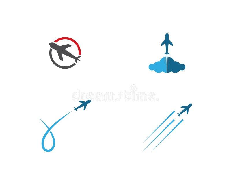 Vetor do logotipo do plano de ar ilustração do vetor