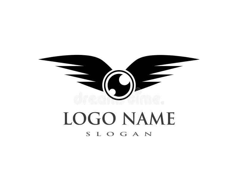 Vetor do logotipo do zangão ilustração stock