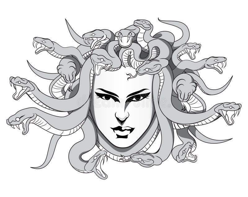 Vetor do Medusa foto de stock