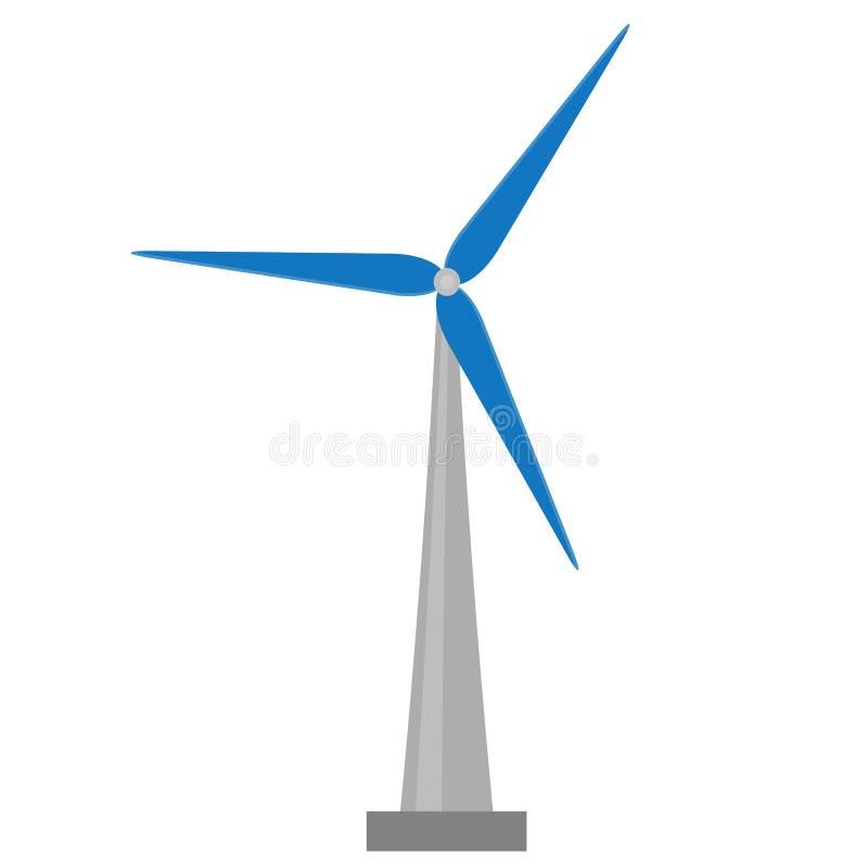 Vetor do moinho de vento ilustração stock